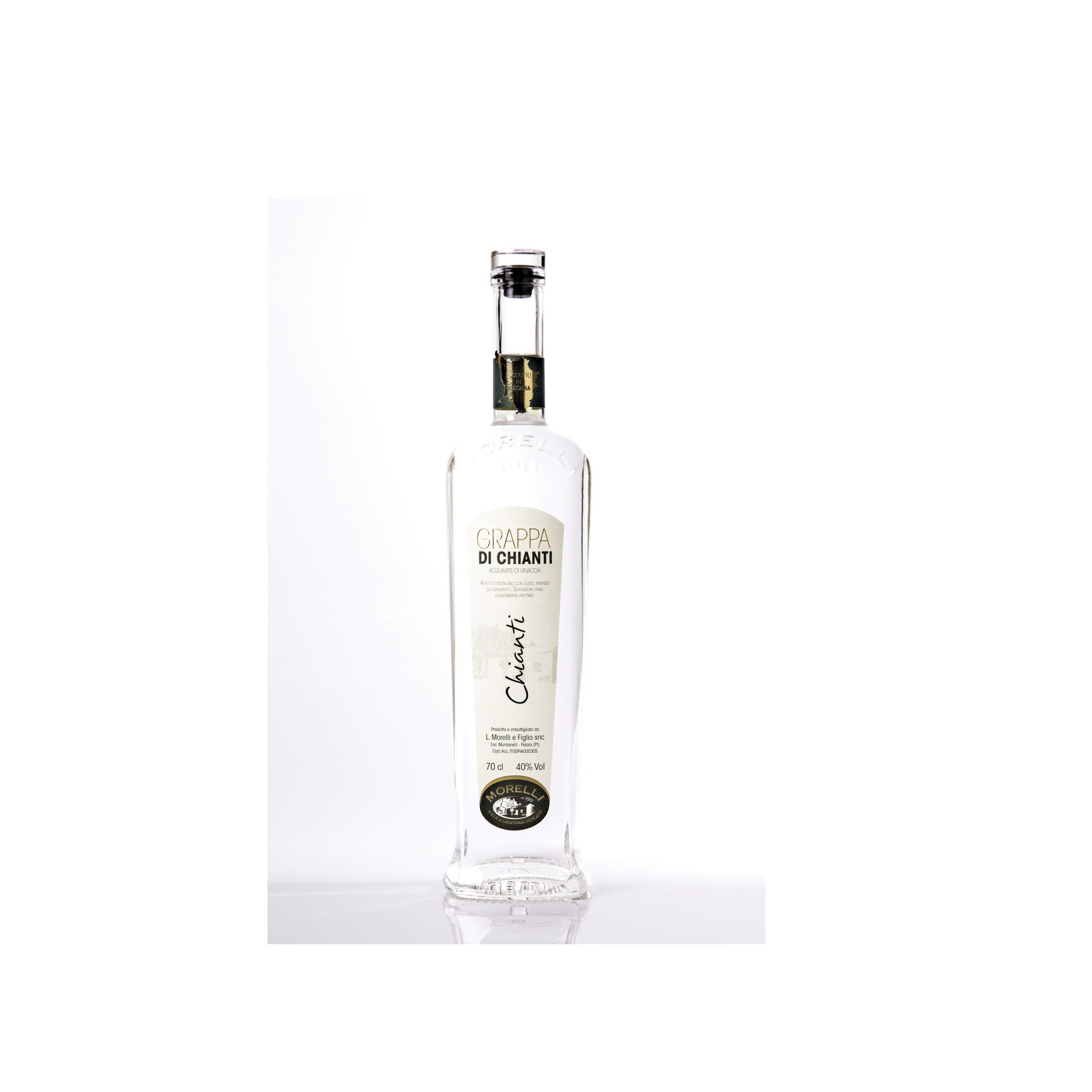 Grappa Bianca   Grappa di Chianti   Liquorificio Morelli