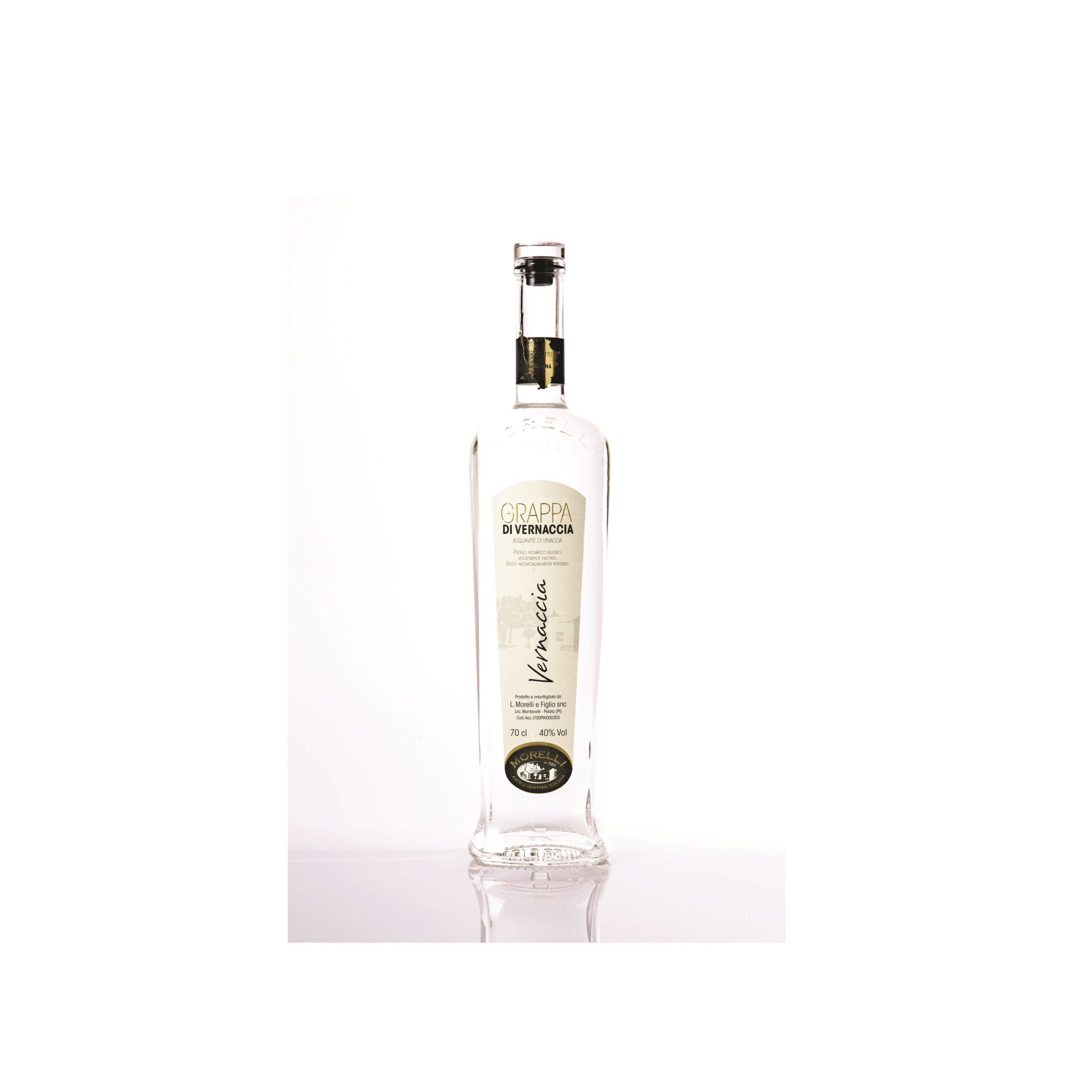 Grappa Bianca | Grappa di Morellino | Liquorificio Morelli